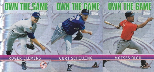 2002 Topps s1 box Own the Game