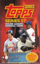 2002 Topps s1 box