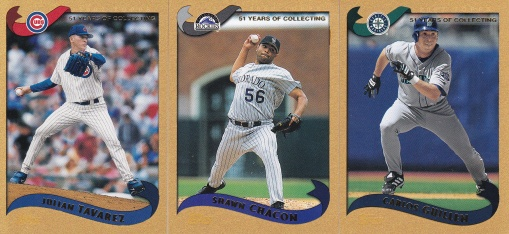 2002 Topps s2 box Gold