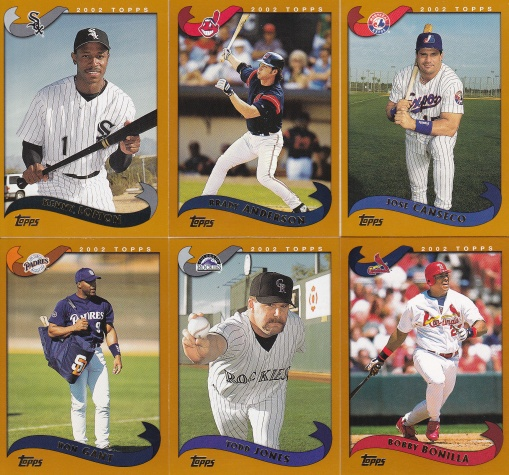 2002 Topps surprise teams