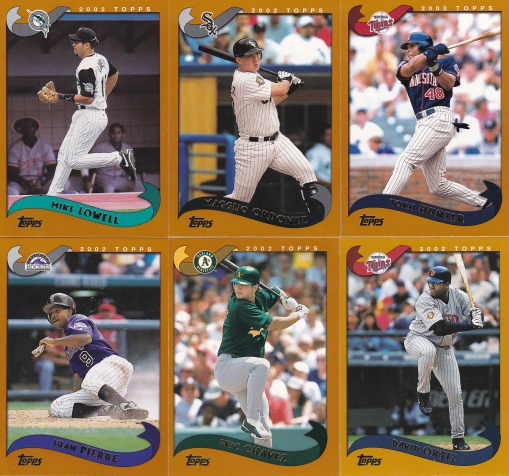 2002 Topps young hitters