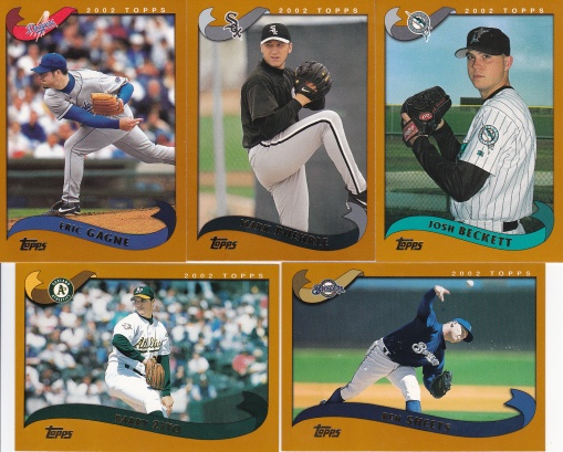 2002 Topps young pitchers