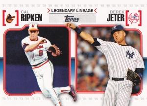 2010 Topps Legendary Lineage Ripken Jeter
