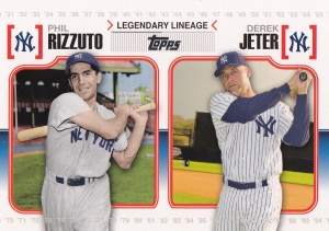 2010 Topps Legendary Lineage Rizzuto Jeter