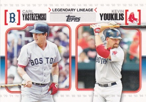 2010 Topps Legendary Lineage Youk Yaz