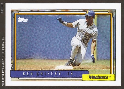Griffey Topps Icon - 1992