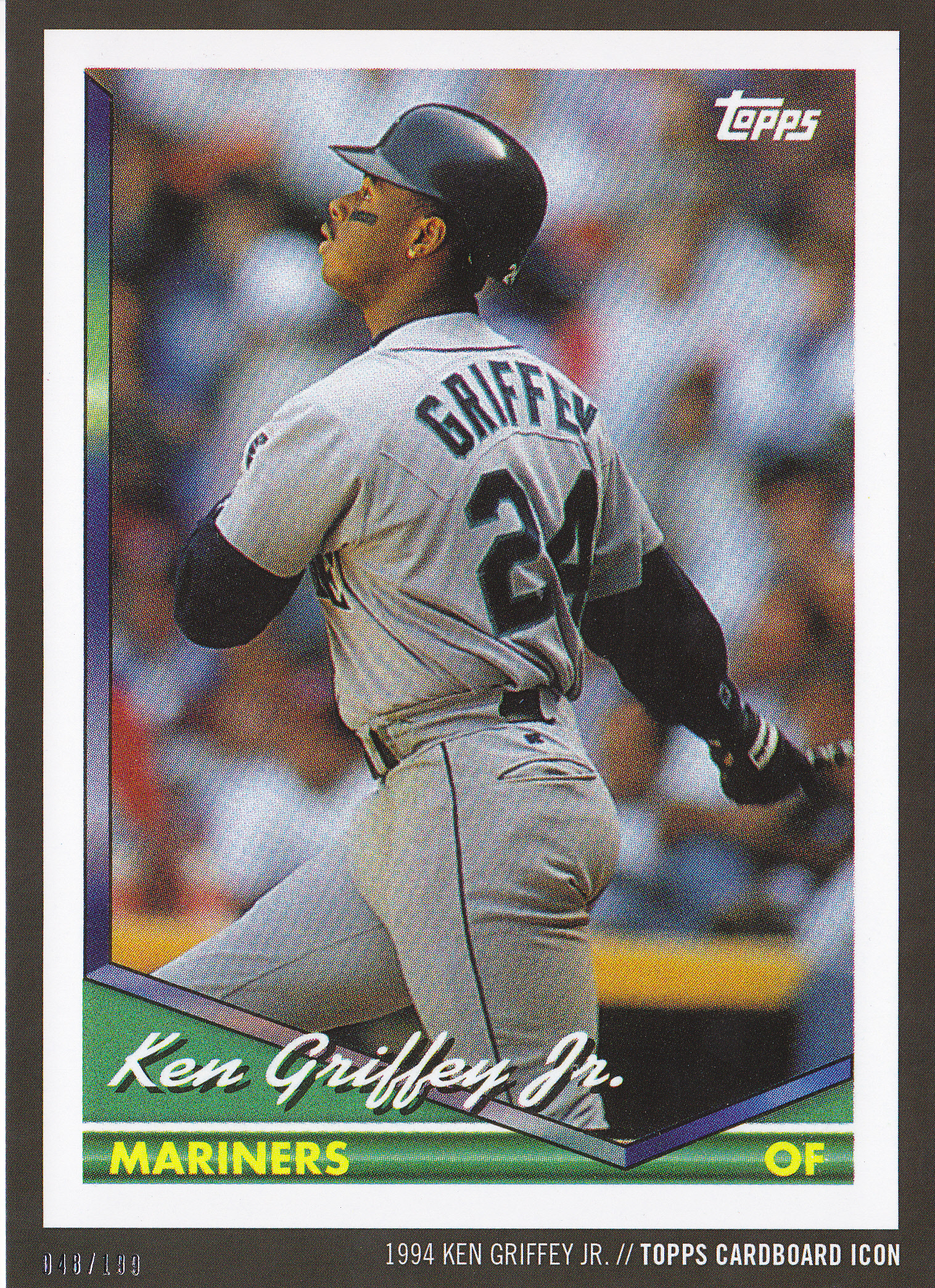 e27f4181bb Griffey | Lifetime Topps project