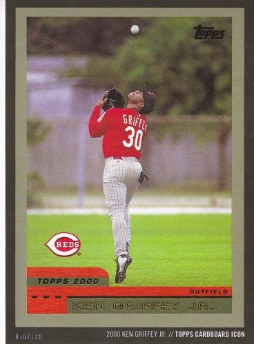 Griffey Topps Icon - 2000