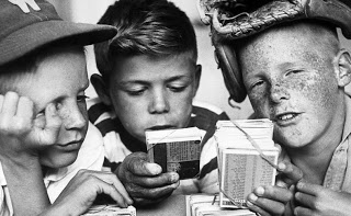 Kids and cards