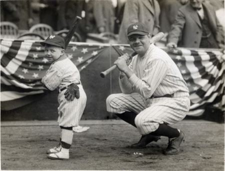 Little Ray Babe Ruth Mascot