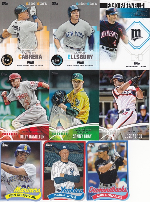 Trade Collective Mind - 2014 Topps inserts