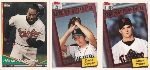 Trade - Highly Subjective 1994 Topps