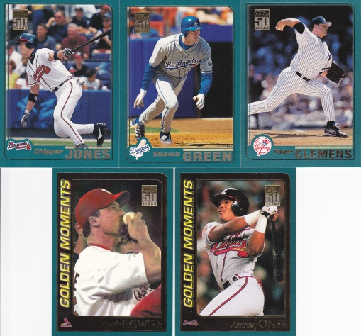 Trade - Highly Subjective 2001 Topps