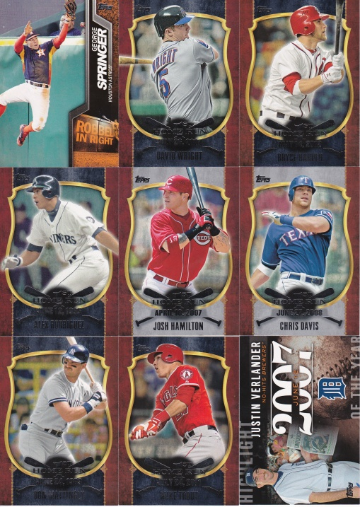 Trade - Highly Subjective 2015 Topps inserts 2