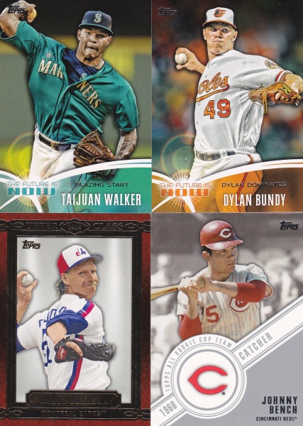 Trade - Night Owl 2014 Topps inserts