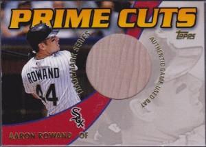 2002 Topps Prime Cuts Trademark Aaron Rowand