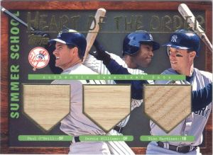 2002 Topps Summer School Heart of the Order O'Neill Williams Tino