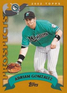 2002 Topps Traded Adrian Gonzalez