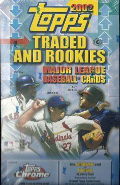 2002 Topps Traded hobby box