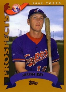 2002 Topps Traded Jason Bay RC