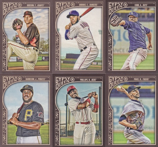 2015 Gypsy Queen blaster current players