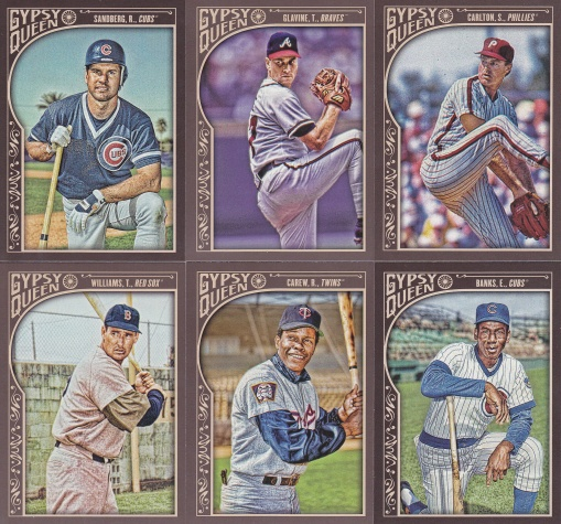 2015 Gypsy Queen blaster HOF players
