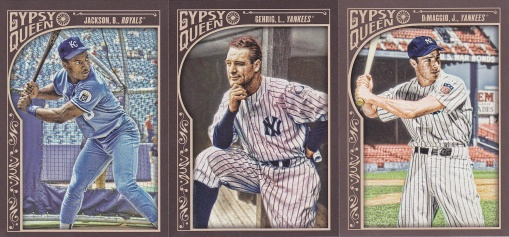 2015 Gypsy Queen value retired players