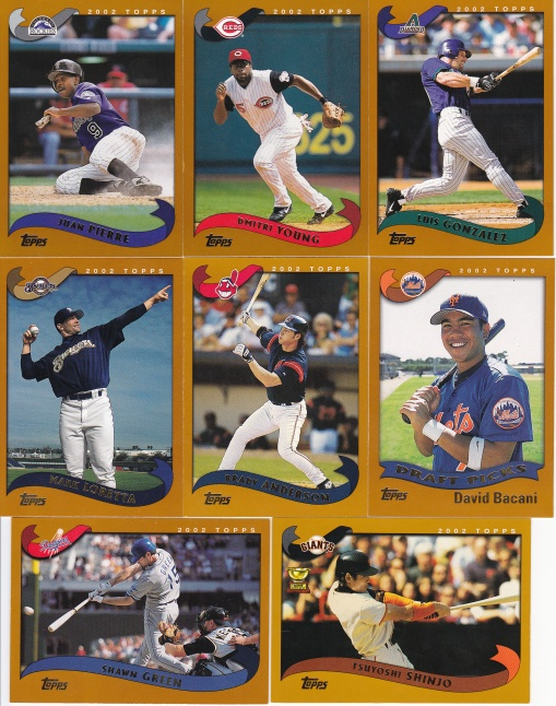 JustCommons 2002 Topps upgrades