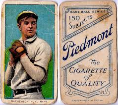 Piedmont Christy Mathewson