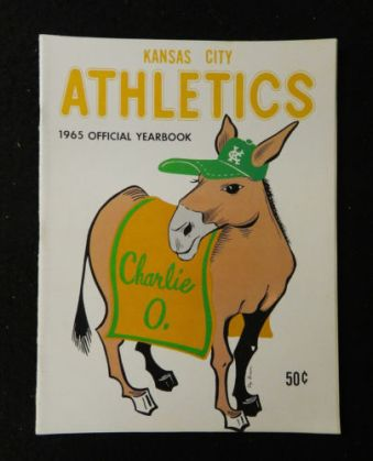 1965 KC A's yearbook Charlie O