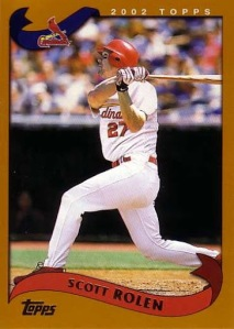 2002 Topps Traded Scott Rolen