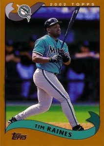 2002 Topps Traded Tim Raines