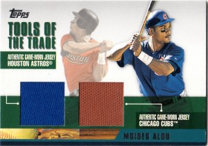 2002 Topps Traded Tools of the Trade Dual Moises Alou