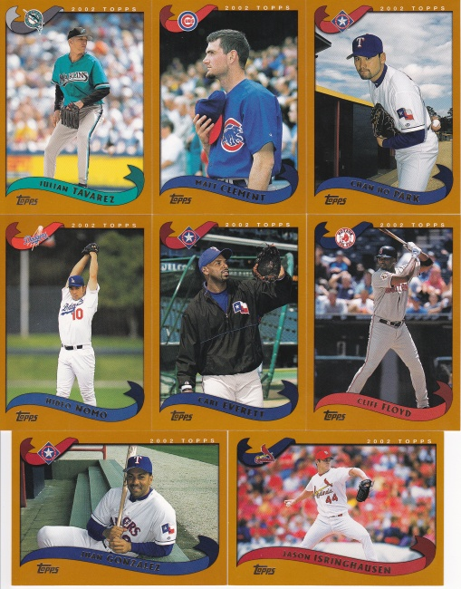 2002 Topps Traded veteran scans