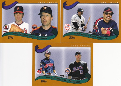 2002 Topps Traded Who Would Have Thought HOFer