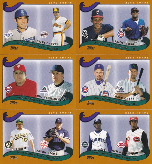 2002 Topps Traded Who Would Have Thought