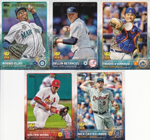 2015 Topps s2 base AS Rookie Team