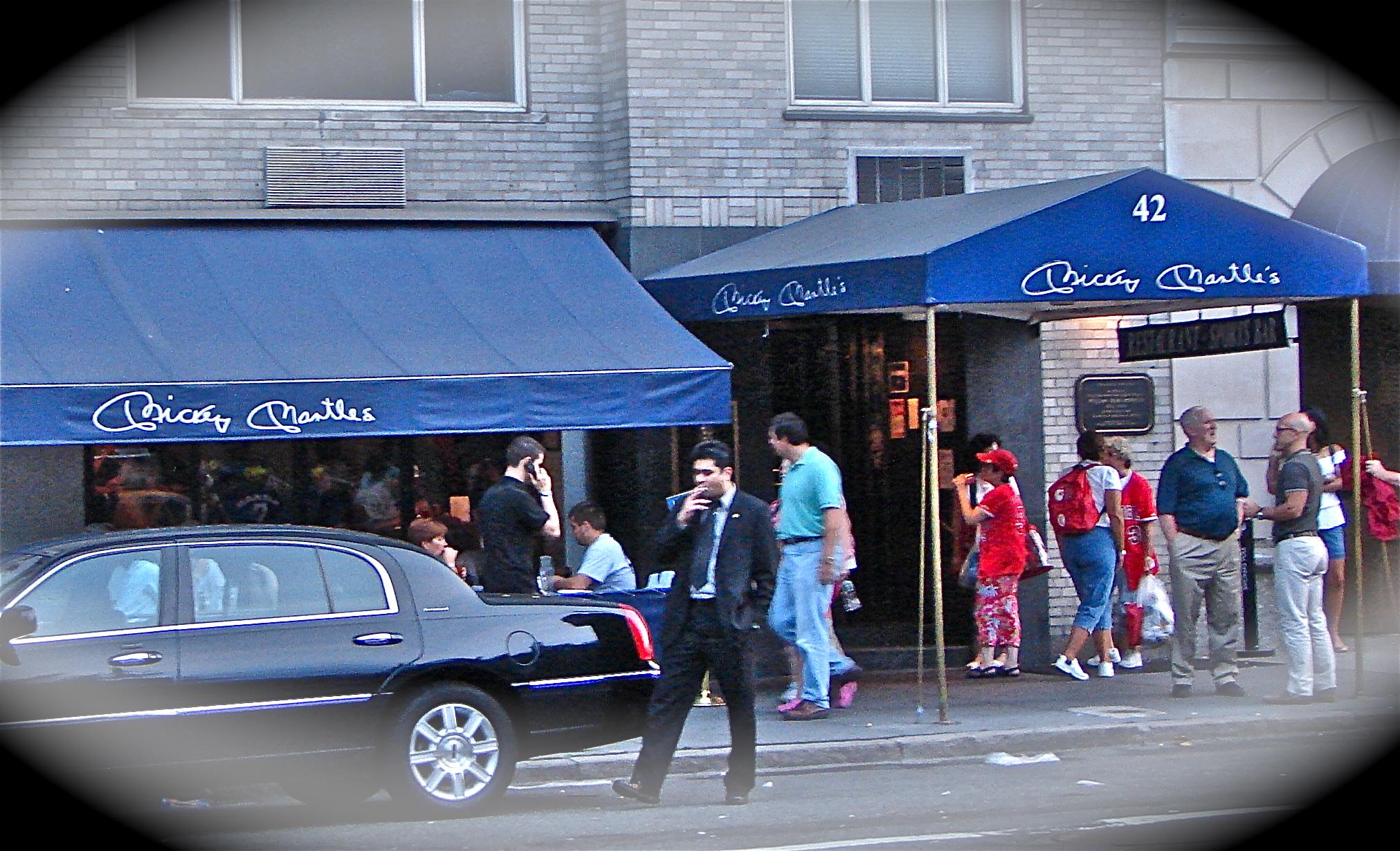 Mickey Mantle Restaurant Nyc Menu