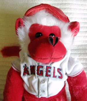 Rally Monkey plush