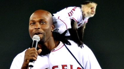 Torii Hunter Rally Monkey