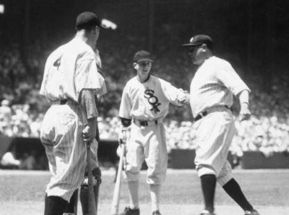 1933 AS game Babe Ruth homer