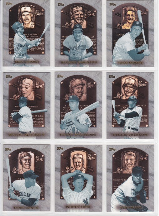 1999 Topps HOF Collection