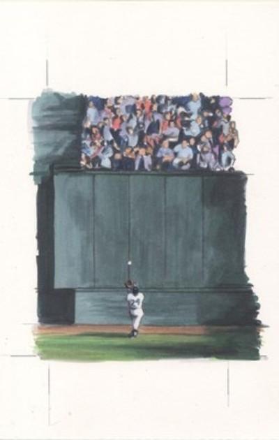 2012 Ginter BH Sketches - original Mays