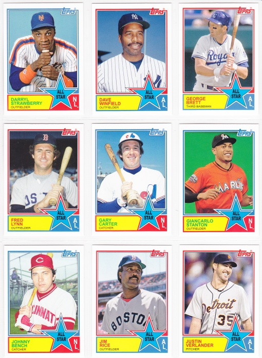 2013 Archives 83 All Star inserts 2