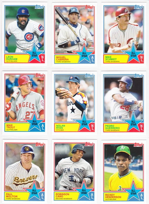 2013 Archives 83 All Star inserts 3