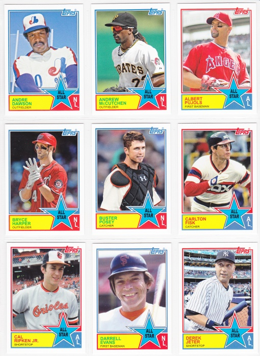 2013 Archives 83 All Star inserts