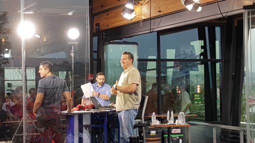 2015 All-Star Game Mike and Mike break