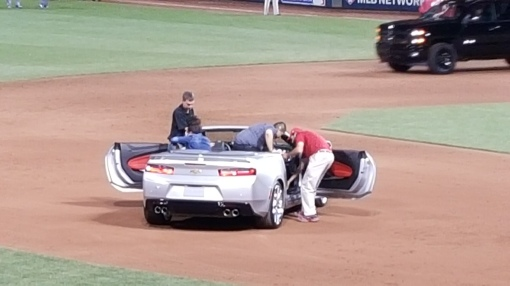 2015 All-Star Game Mike Trout MVP car