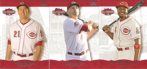 2015 Topps ASG Fanfest set - Reds Frazier Phillips Votto 001