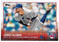 2015 Topps s2 base Award Kluber